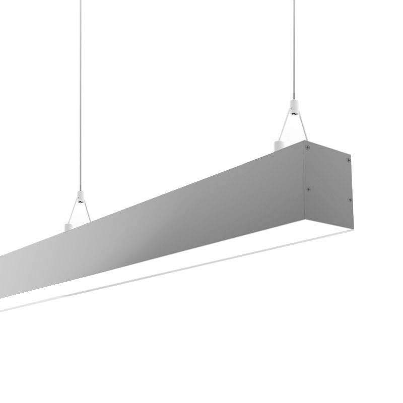 Lámpara colgante SERK, 40W, 120cm, TRIAC regulable, Blanco neutro, Regulable